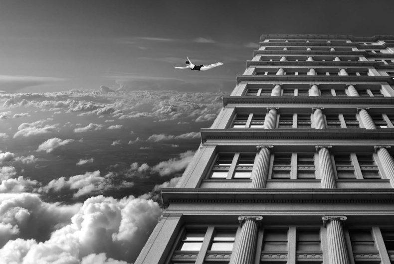 Thomas Barbèy, surreal black and white photomontages
