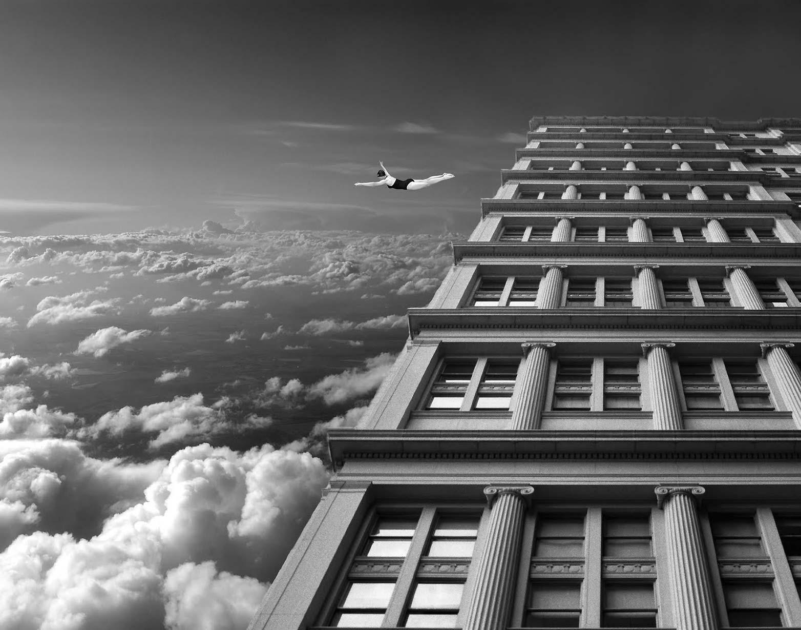 Thomas Barbèy, fotomontaggi surreali in bianco e nero