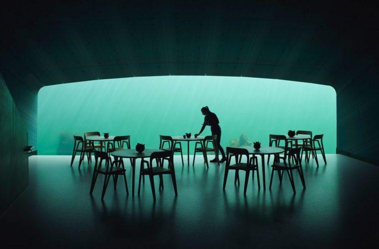 Under, il primo ristorante sottomarino d'Europa