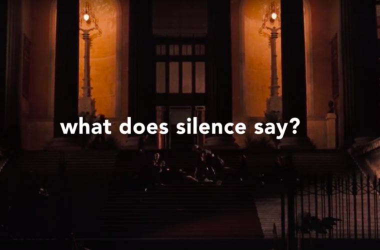 When Words Fail in Movies, silence please