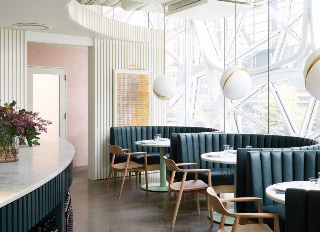 Willmott's Ghost, il ristorante all'interno di Amazon Spheres | Collater.al