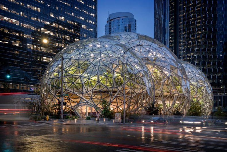 Il ristorante Willmott's Ghost apre all'interno di Amazon Spheres