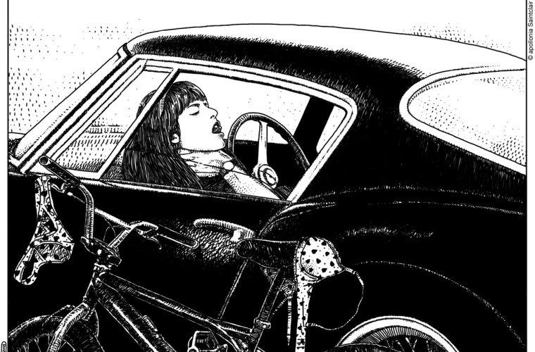 Erotic illustrations by Apollonia Saintclair