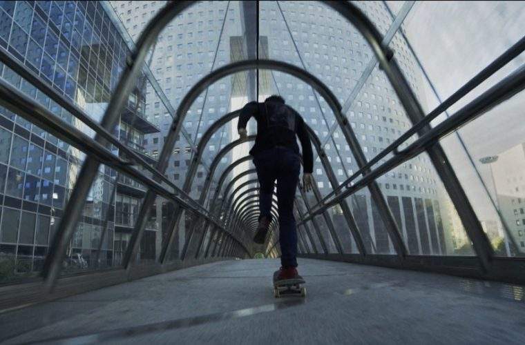 Unwordable, the streets of Paris seen from the skateboard