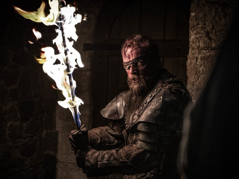 Beric Battle of Winterfell | Collater.al