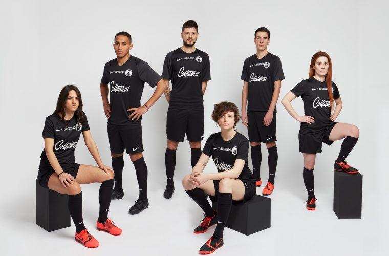 Calcetto Eleganza presents the new Nike kit