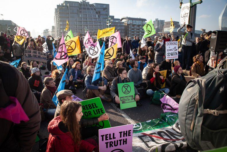 Extinction Rebellion, arte contro il cambiamento climatico