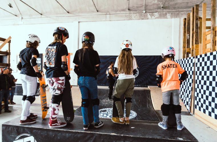 Find out what happened at Get On Board, the Vans' Girls Skate Camp