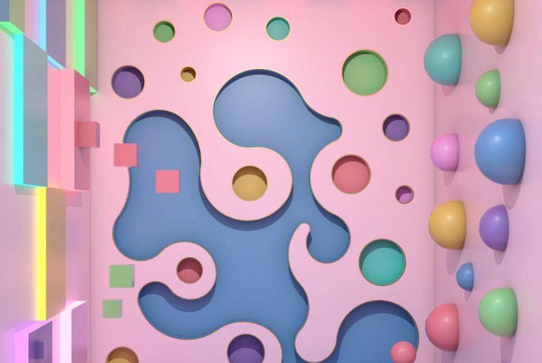 I colori dei rendering di Ana De Santos