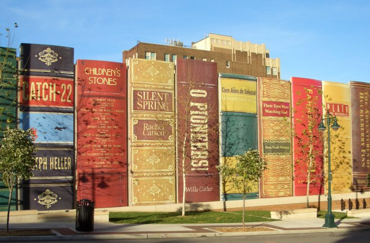 I libri giganteschi della Kansas City Public Library