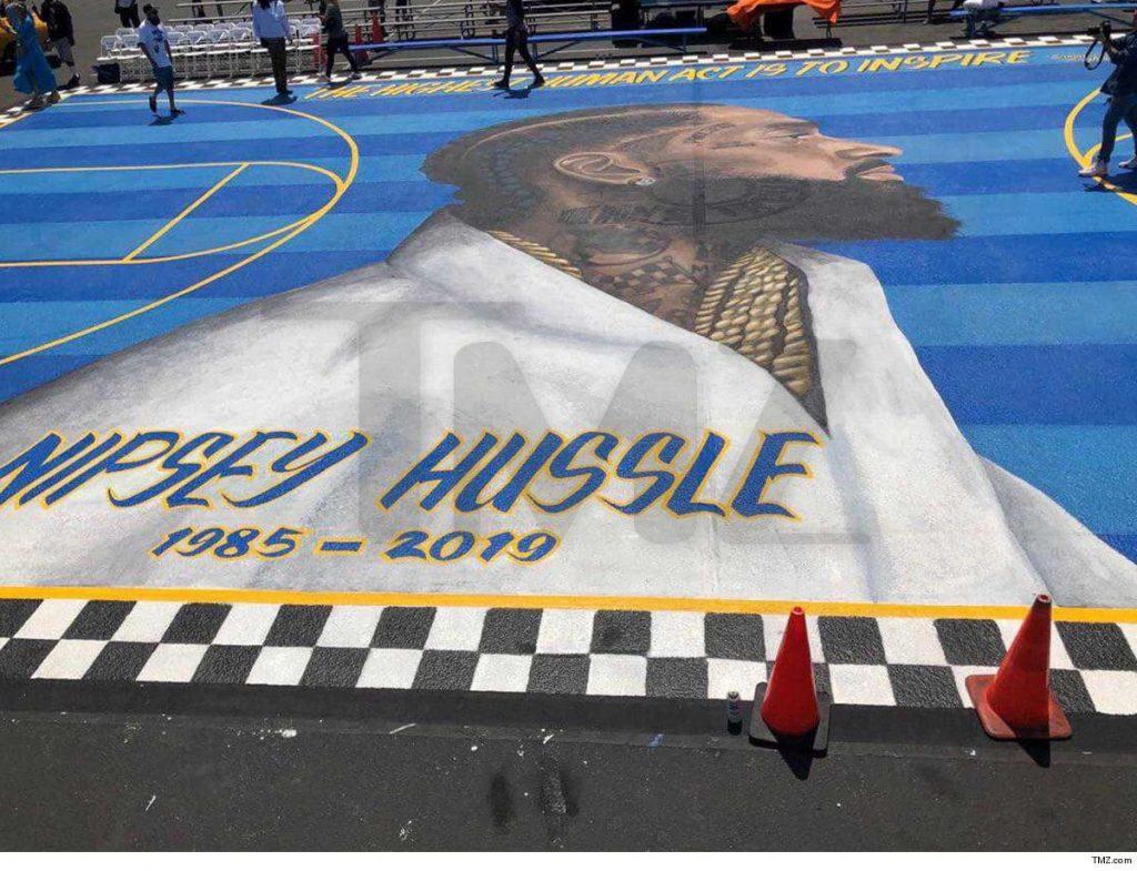 Il murale a L.A in memoria di Nipsey Hussle | Collater.al