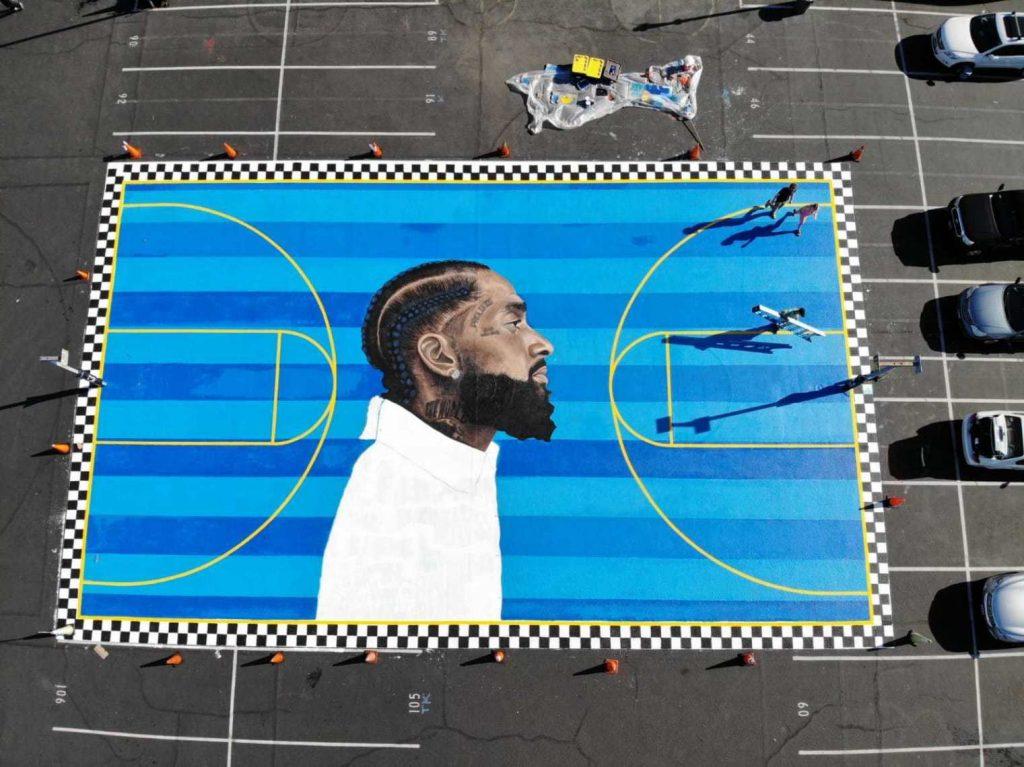 Il murale di LA in memoria di Nipsey Hussle | Collater.al