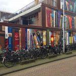 Il murale di Utrecht che sembra lo scaffale di una biblioteca   Collater.al 4