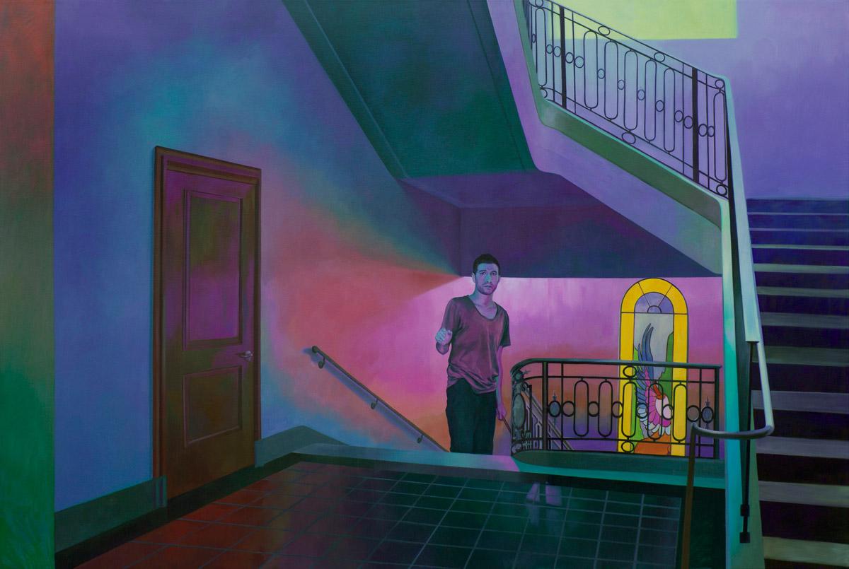 Il realismo pop nei quadri di Xiao Wang
