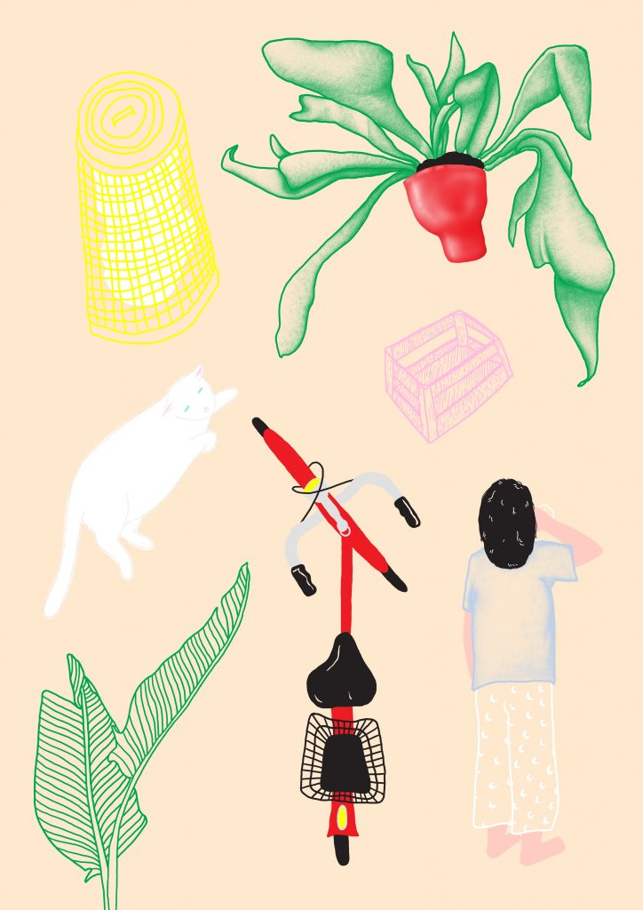 Illustrated Interview Lineette | Collater.al 5