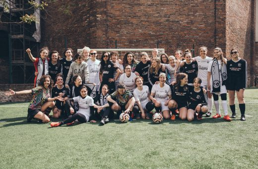 Find out what happened at the International Women Football Experience of Calcetto Eleganza