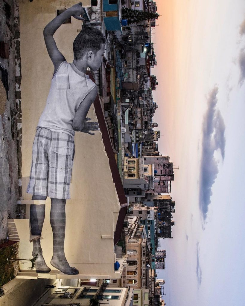 JR's new work at the Havana Biennial in Cuba   Collater.al
