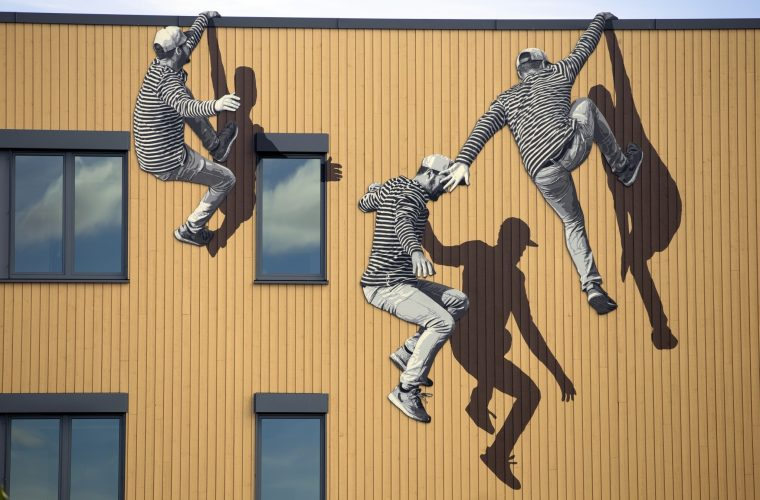 La street art tridimensionale di STRØK