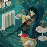 Le eccentriche illustrazioni di Marcos Chin   Collater.al 10