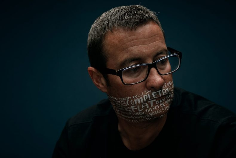 Let's Talk, Charlie Clift's photo campaign on mental illness