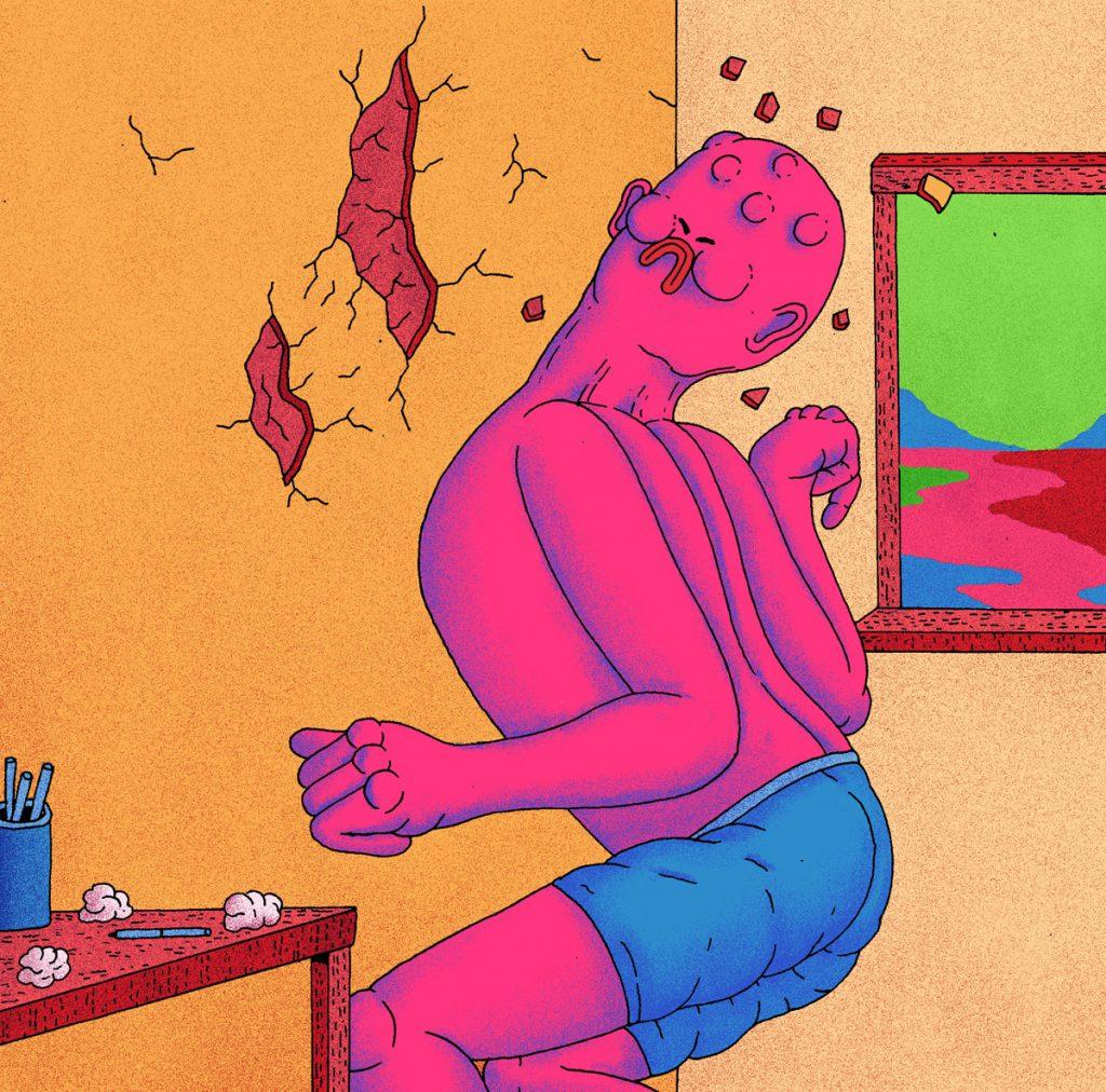 L'universo surreale e psichedelico di Alex Gamsu Jenkins | Collater.al