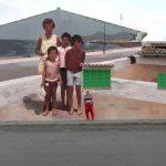 Mohamed L'Ghacham, le foto di famiglia diventano murales | Collater.al 6