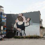 Mohamed L'Ghacham, le foto di famiglia diventano murales | Collater.al5