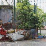 Mohamed L'Ghacham, le foto di famiglia diventano murales | Collater.al. 3