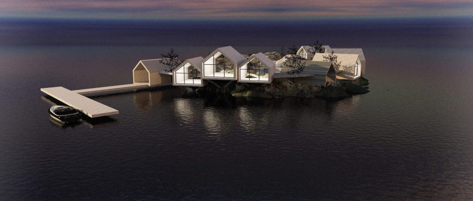 Rat Island, l'eco-resort firmato Jendretzki Design a New York