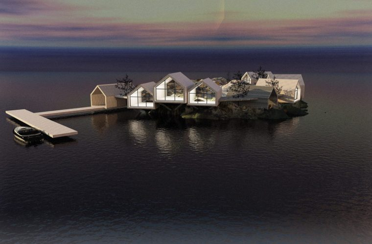 Rat Island, l'eco-resort firmato Jendretzki Design a New York