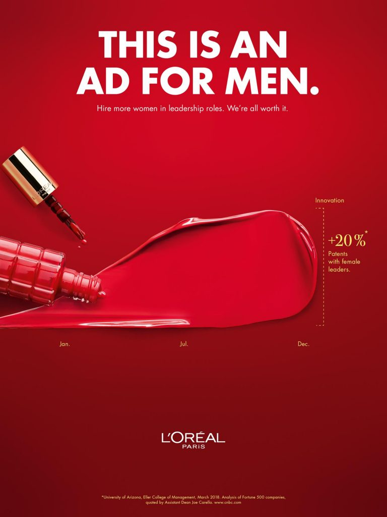 This Is an Ad for Men by LOreal McCann | Collater.al