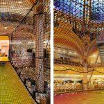 Una rete neon per la Galeries Lafayette Haussmann a Parigi | Collater.al 2