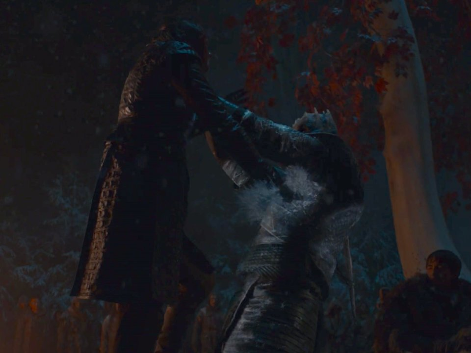arya Battle of Winterfell | Collater.al 2