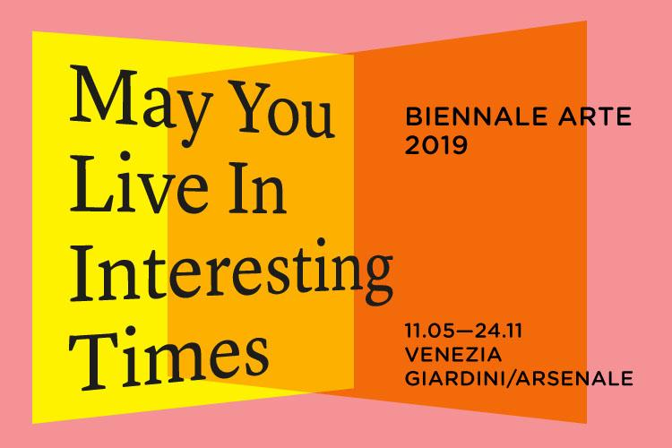 biennnale di venezia 2019 May You Live in Interesting Times logo | Collater.al