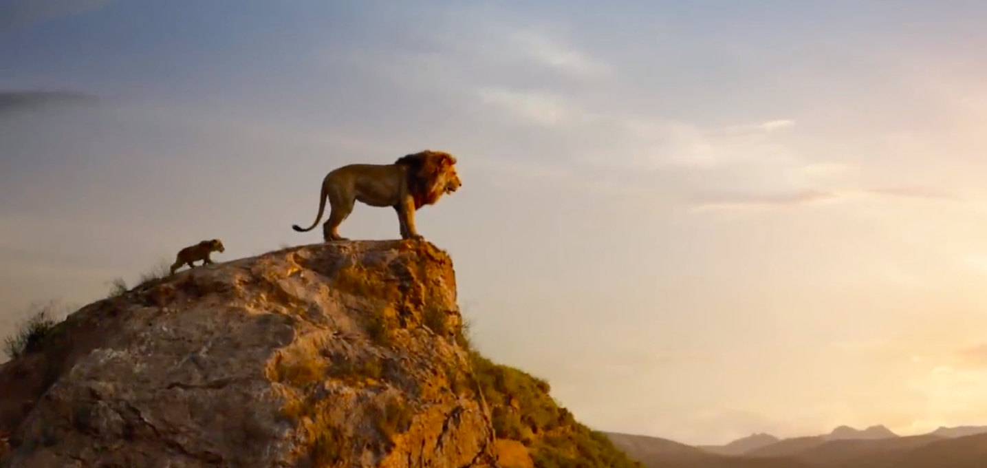 It' here! Watch the official trailer for The Lion King!