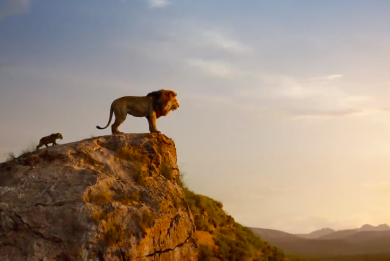 It's here! Watch the official trailer for The Lion King!