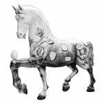 milano design week installazioni installations horse | Collater.al 2