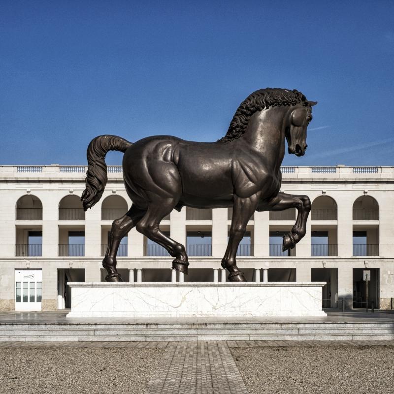 milano design week installazioni installations horse | Collater.al