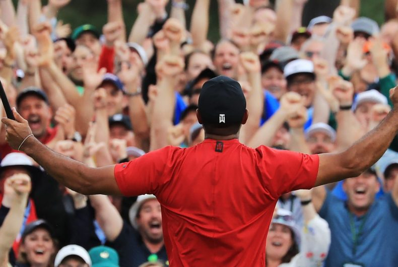 Nike continues to touch us with the new commercial with Tiger Woods