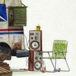 Alvaro Naddeo- acquerelli di un mondo distopico | Collater.al 1