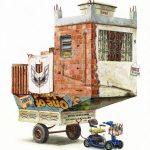 Alvaro Naddeo- acquerelli di un mondo distopico | Collater.al3