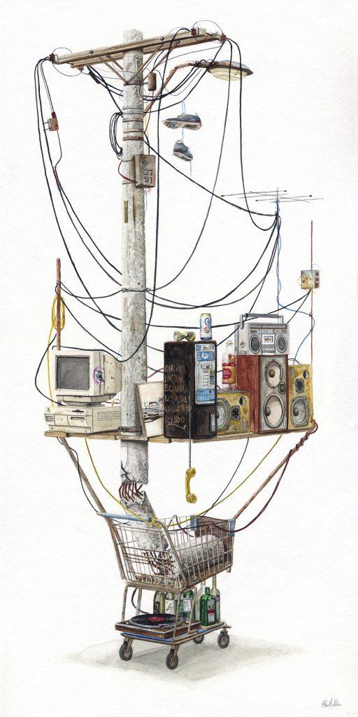 Alvaro Naddeo: acquerelli di un mondo distopico | Collater.al