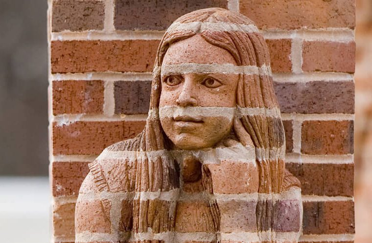 Brad Spencer's realistic brick sculptures