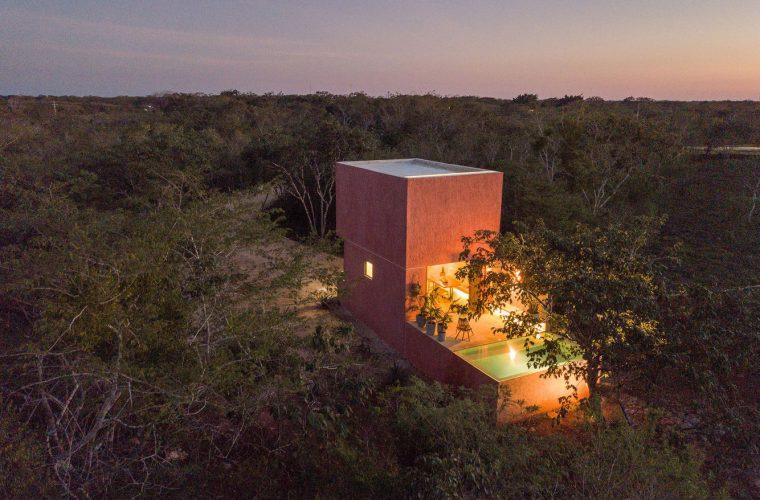 Casa de Monte, un'oasi messicana immersa nel verde