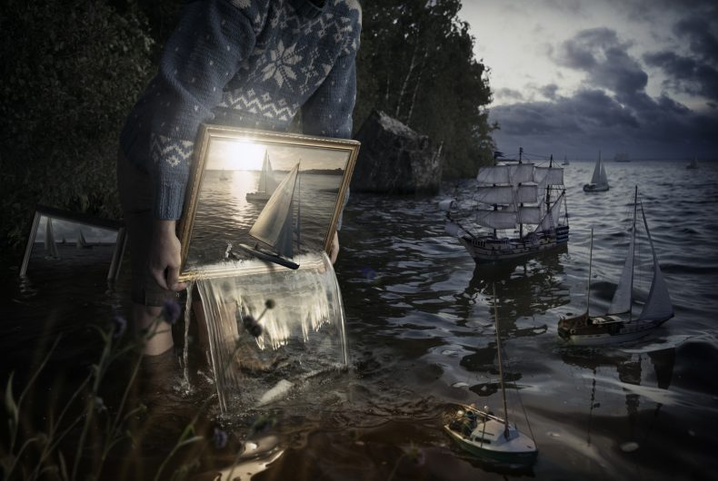 Erik Johansson, the photographer who manipulates reality