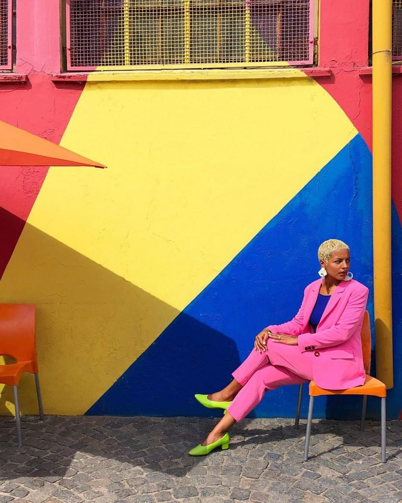 Forrest Aguar, colours and geometries merge   Collater.al