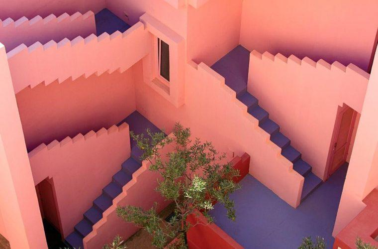 Forrest Aguar, colori e geometrie si fondono