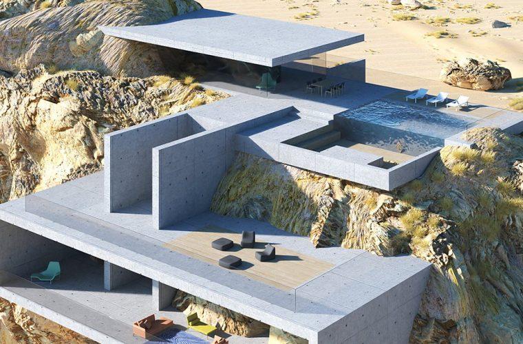 House inside a rock, il progetto da sogno di Amey Kandalgaonkar