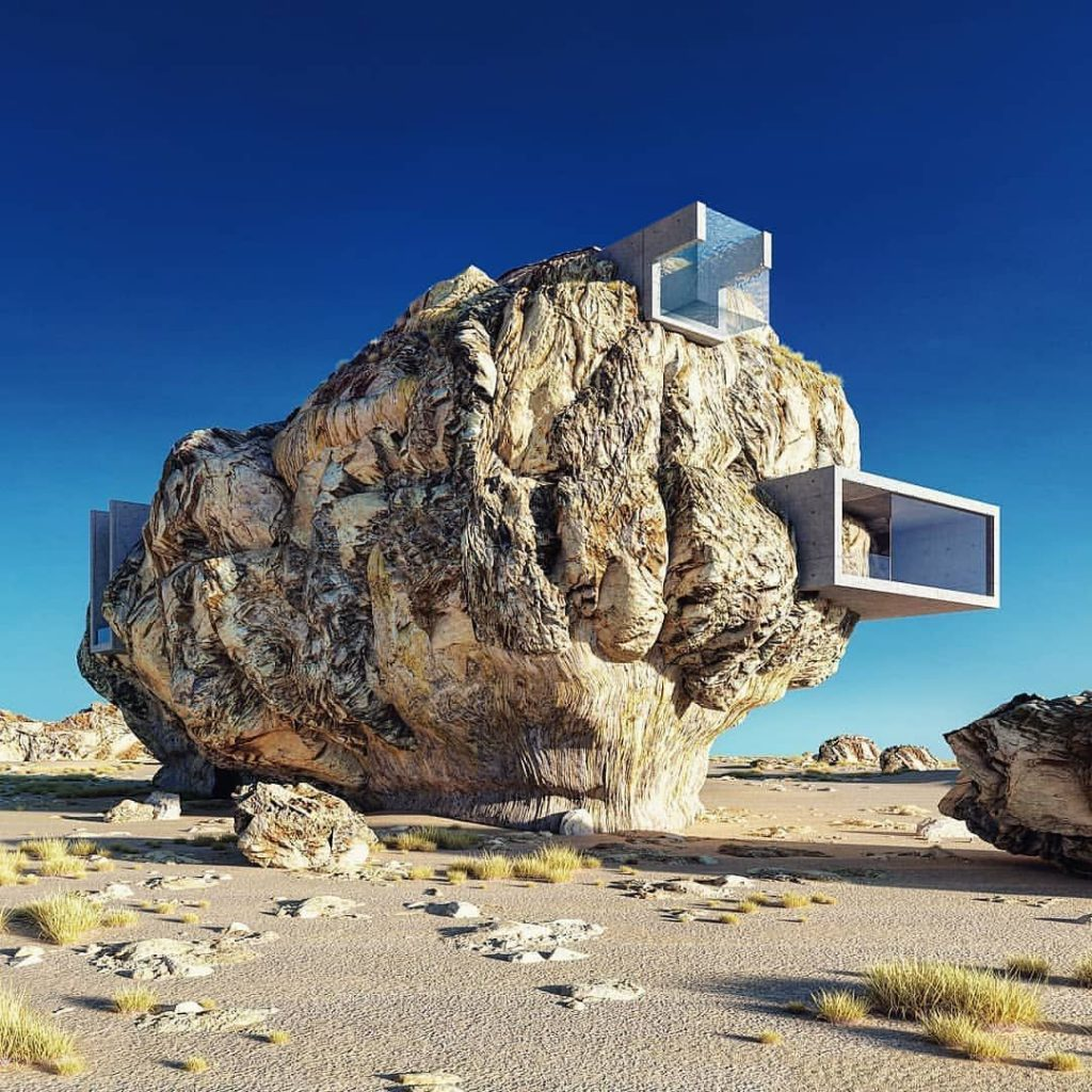House inside a rock | Collater.al