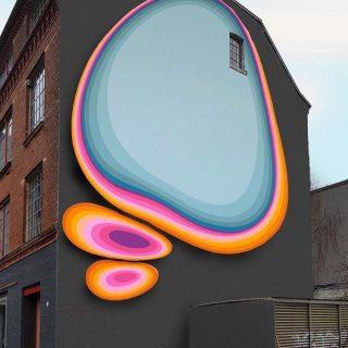 I murales ipnotici e colorati di Jan Kaláb | Collater.al
